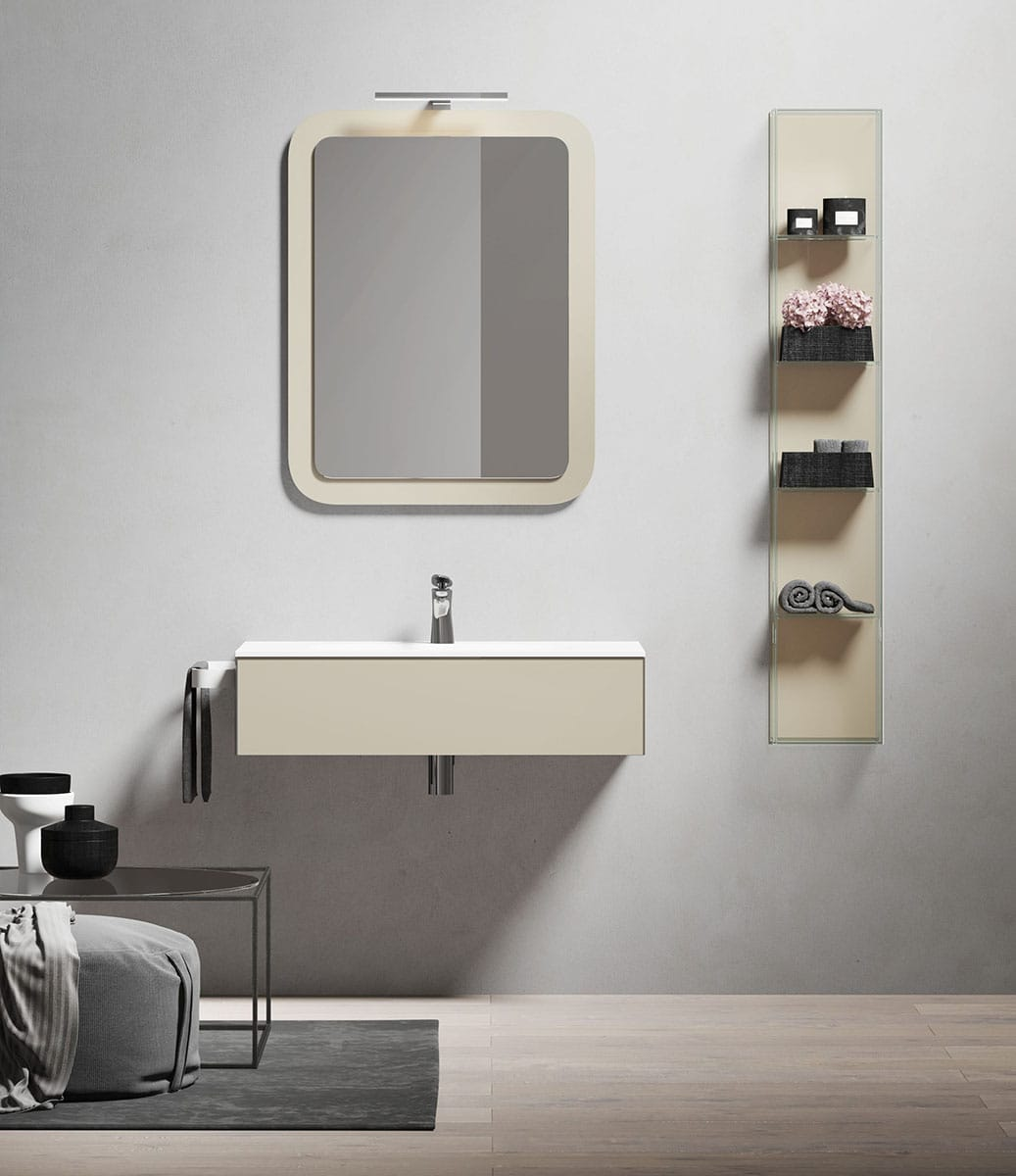 Q 39 in by vetreria gobbini for Bagno h24
